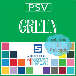 Permanent PS Sign Vinyl-Green