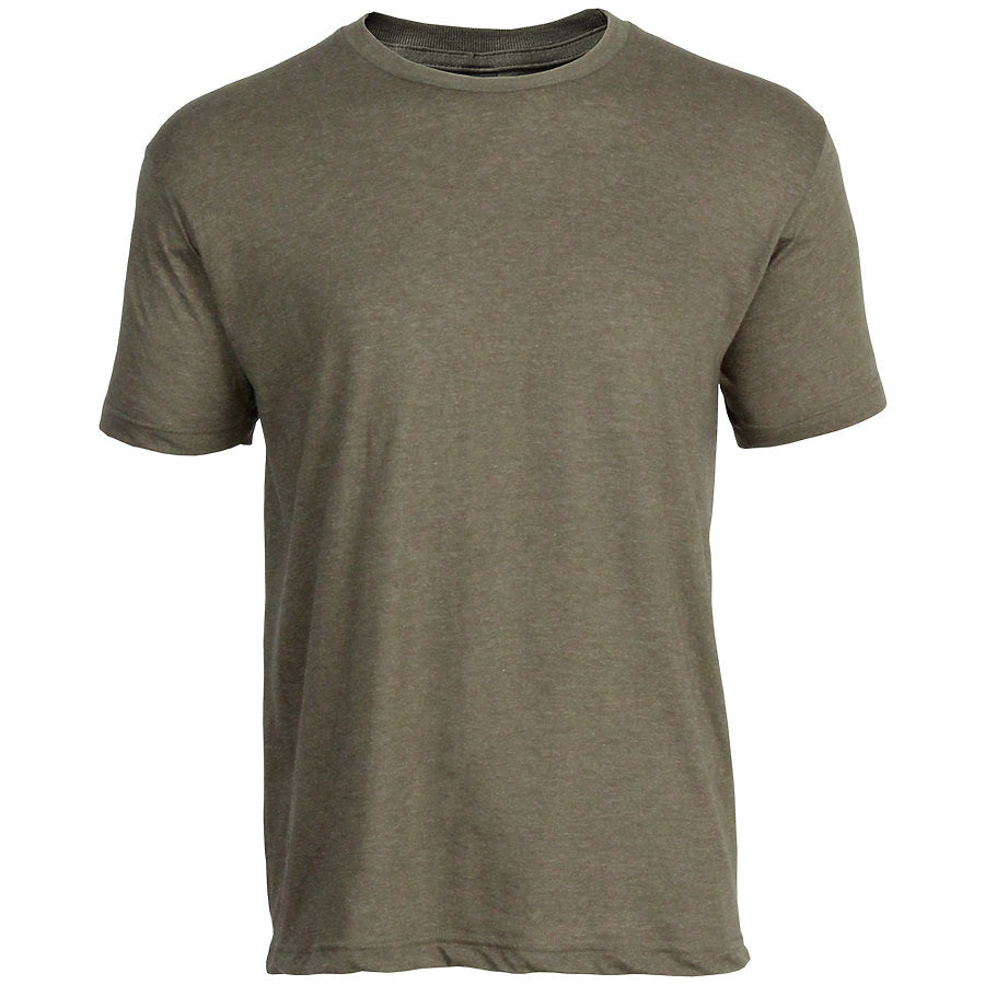 Tultex 202 Adult Crew-Heather Military Green