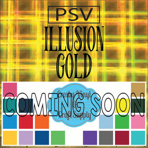 Permanent PS Sign Vinyl-Illusion Gold