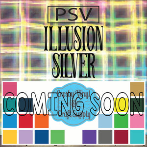 Permanent PS Sign Vinyl-Illusion Silver