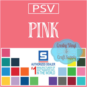 Permanent PS Sign Vinyl-Pink