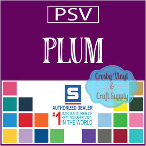 Permanent PS Sign Vinyl-Plum
