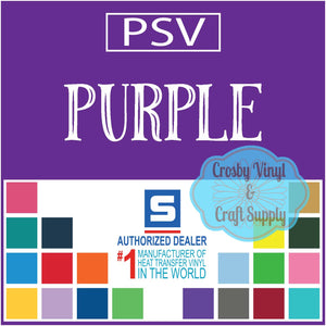 Permanent PS Sign Vinyl-Purple