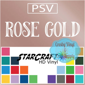 Permanent PS Sign Vinyl-Rose Gold