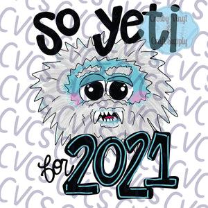 So Yeti for 2021