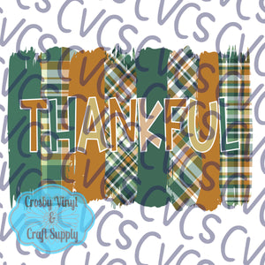 Thankful Painted Plaids