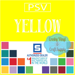 Permanent PS Sign Vinyl-Yellow
