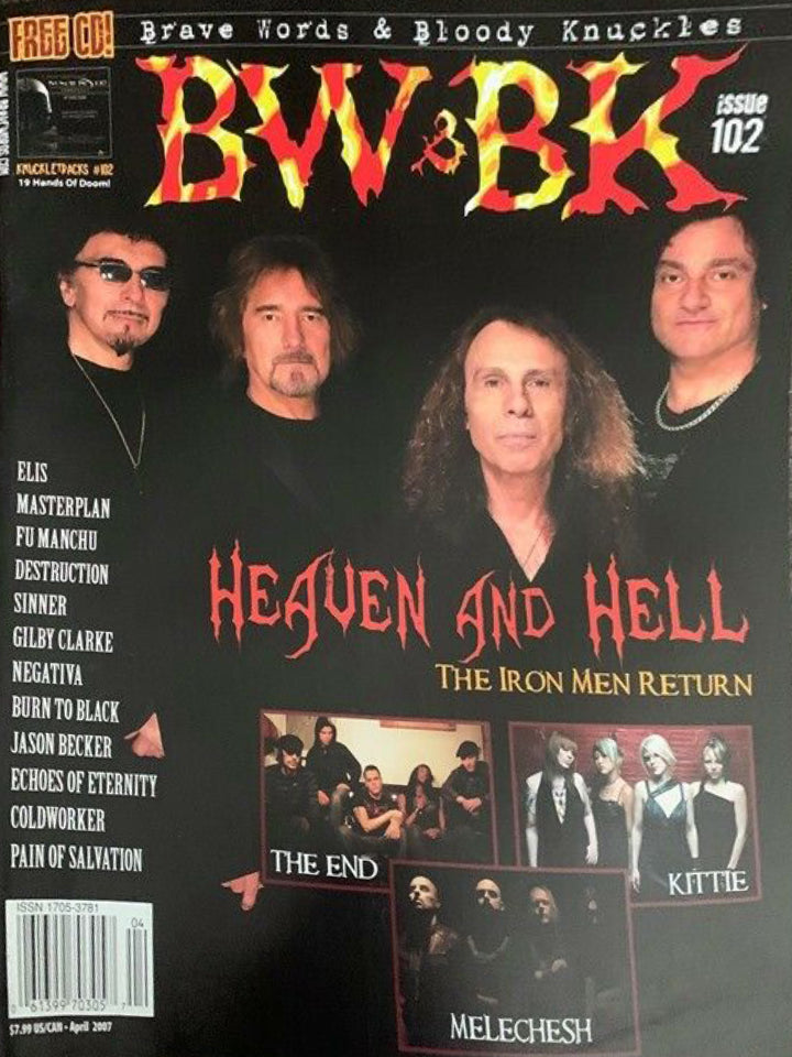 BW&BK Issue 102 (Heaven & Hell) w/FREE CD