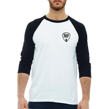 Load image into Gallery viewer, RBC Bluesfest 2020 Guitar Pick Raglan