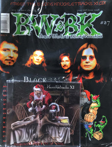BW&BK Issue 27 (Black Sabbath) w/ FREE CD !