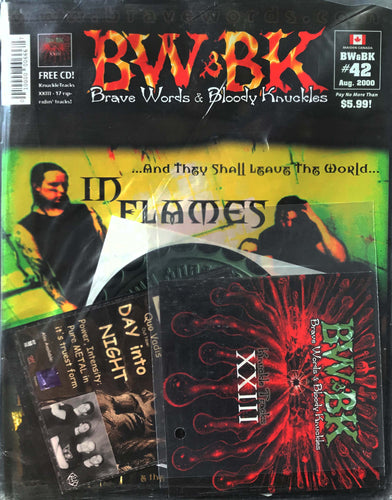 BW&BK Issue 42 (In Flames) w/ FREE CD !