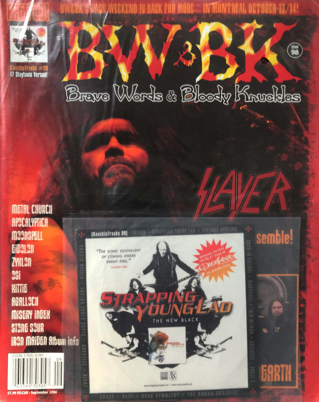 BW&BK Issue 98 (Slayer) w/ FREE CD !