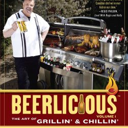 BOOK Beerlicious: The Art of Grillin' & Chillin' SIGNED