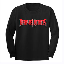 Load image into Gallery viewer, Classic Brave Words Logo Long Sleeve