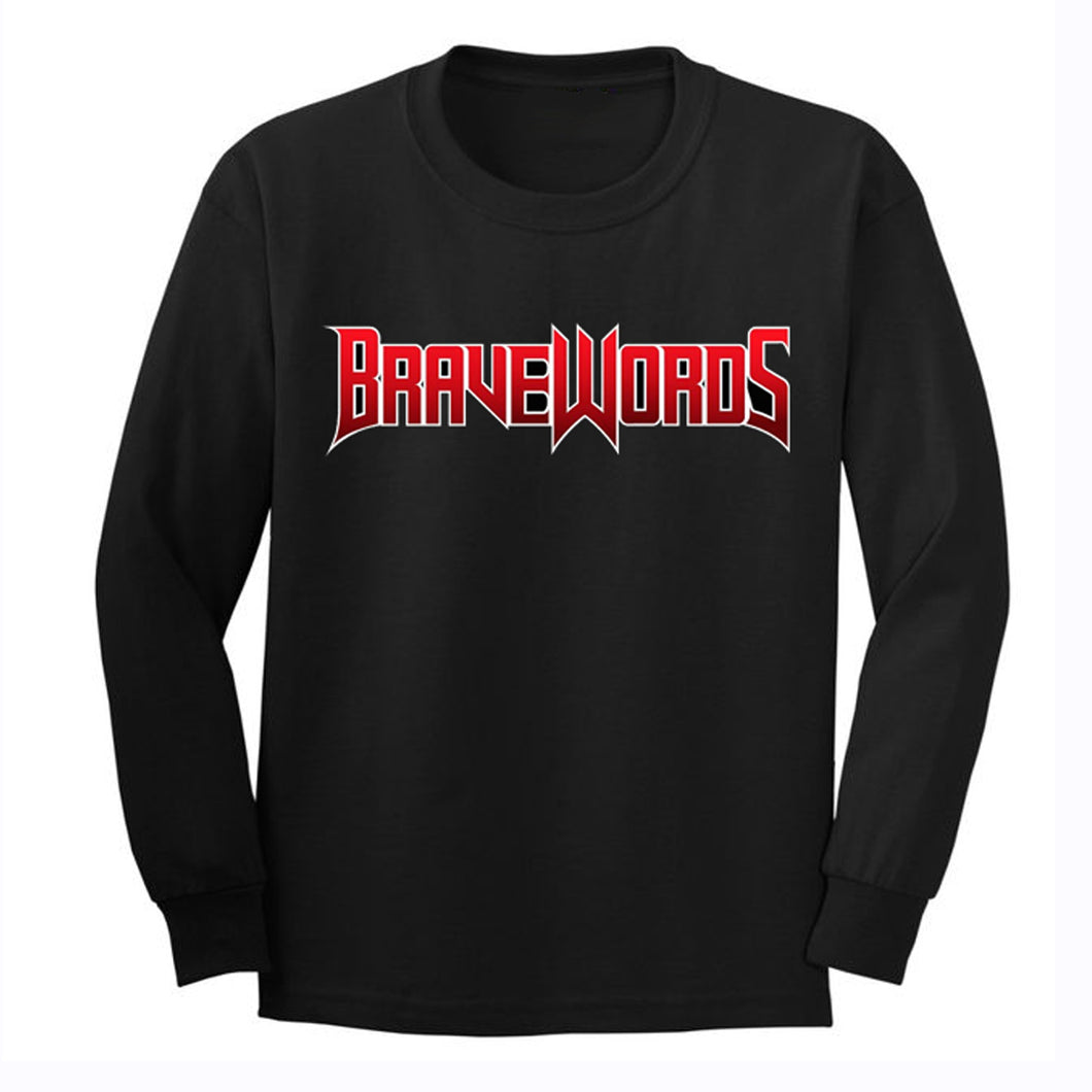 Classic Brave Words Logo Long Sleeve
