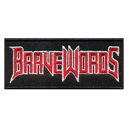 Classic Brave Words Logo Patch