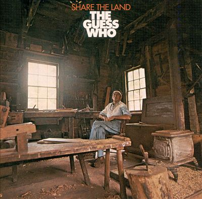 THE GUESS WHO Share The Land CD (1970)