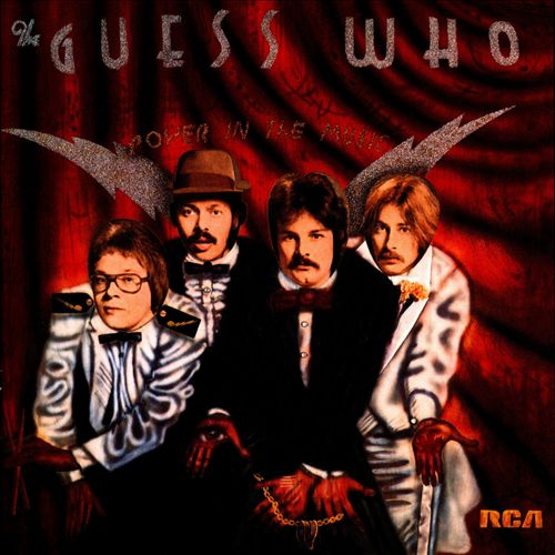 THE GUESS WHO Power In The Music CD (1975)