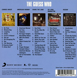 THE GUESS WHO Original Album Classics CD Box Set