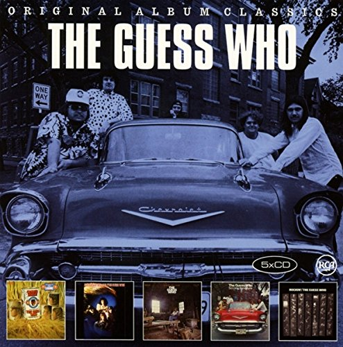 THE GUESS WHO - Original Album Classics CD Box Set