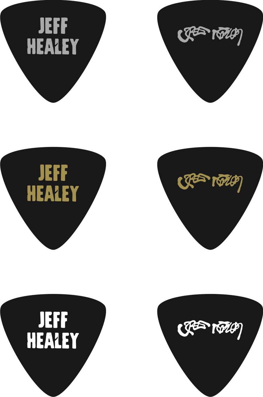 Guitar Pick Set (3)