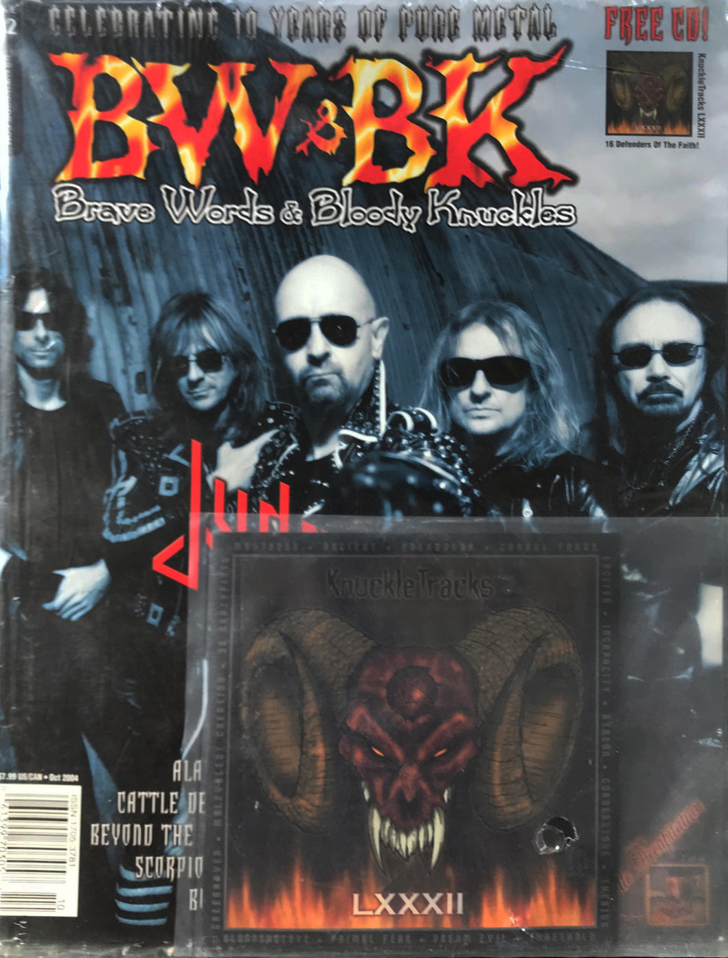 BW&BK Issue 82 (Judas Priest) w/ FREE CD !