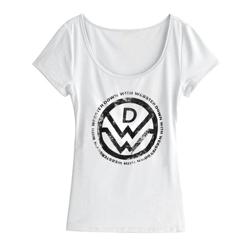 Logo Girl Scoop Neck