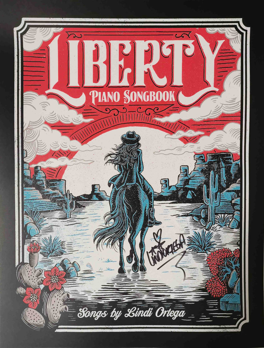 Piano Songbook Print SIGNED