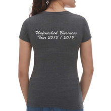 Load image into Gallery viewer, Unfinished Business Ladies Heather VNeck