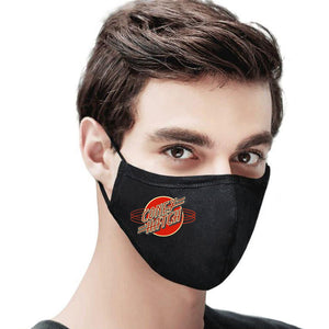 Red Logo Mask