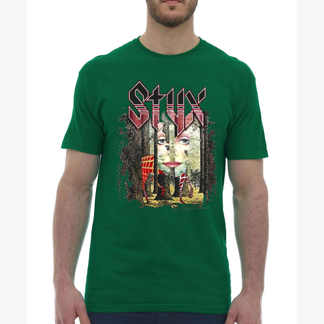 Grand Illusion Green T
