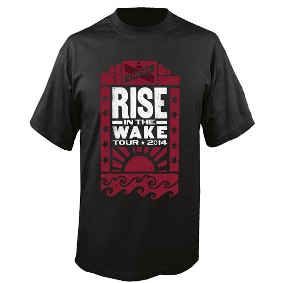 Rise In The Wake Black Tour T