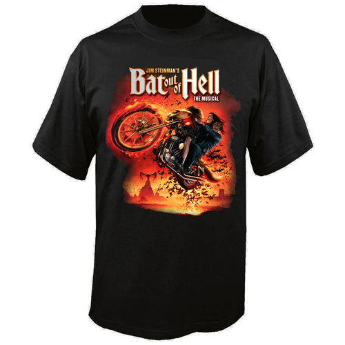 Bat Out Of Hell Dateback T