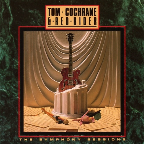 TOM COCHRANE & RED RIDER - Symphony Sessions CD (1989)