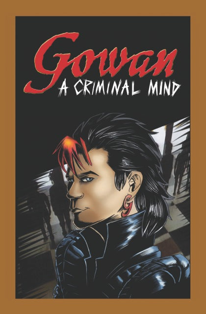 A Criminal Mind Comic Book SIGNED