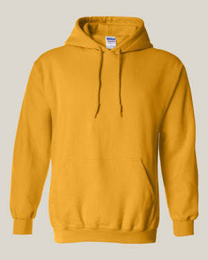 Red Rose Not Alone Yellow Hoodie