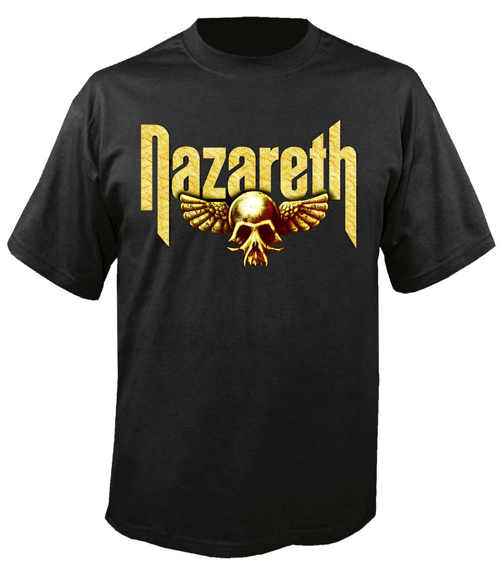 Gold Skull Wings T