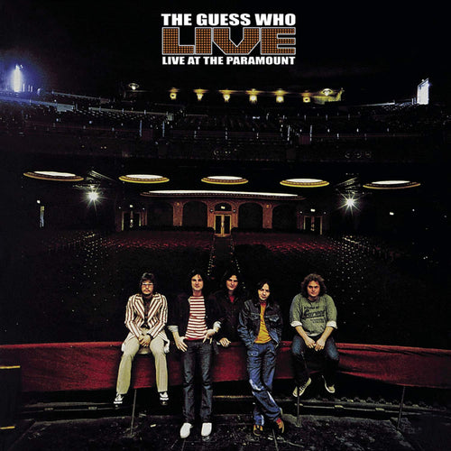 THE GUESS WHO Live At The Paramount CD (1972)