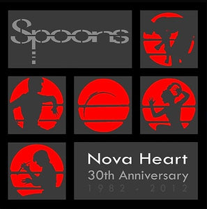 Nova Heart 30th Anniversary EP CD (2012) SIGNED