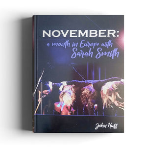 NOVEMBER : A Month in Europe with Sarah Smith BOOK - SIGNED