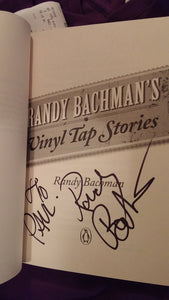 Vinyl Tap Stories BOOK (2011) (soft cover) SIGNED