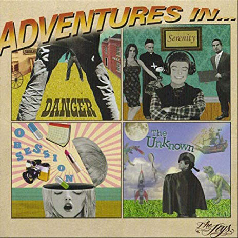 THE JOYS Adventures In... CD (2010) SIGNED