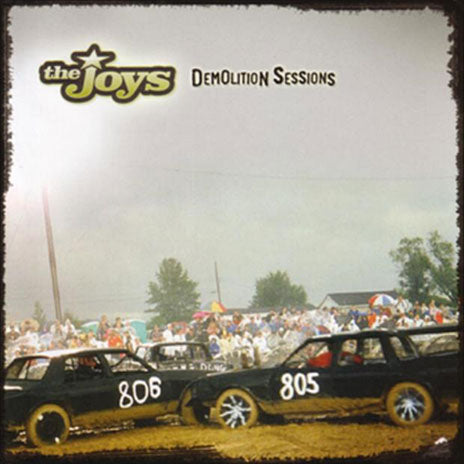 THE JOYS Demolition Sessions CD (2005) SIGNED