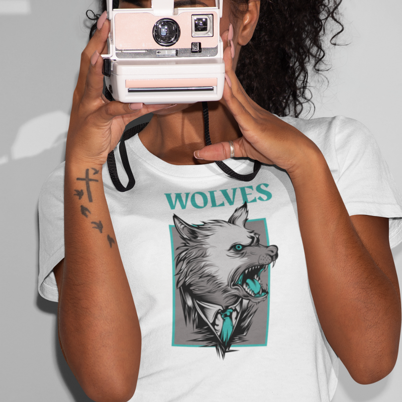 T-Shirt WOLVES <br> ADULTE
