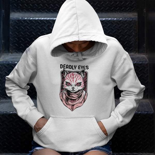 Hoodie DEADLY EYES <br> ADULTE