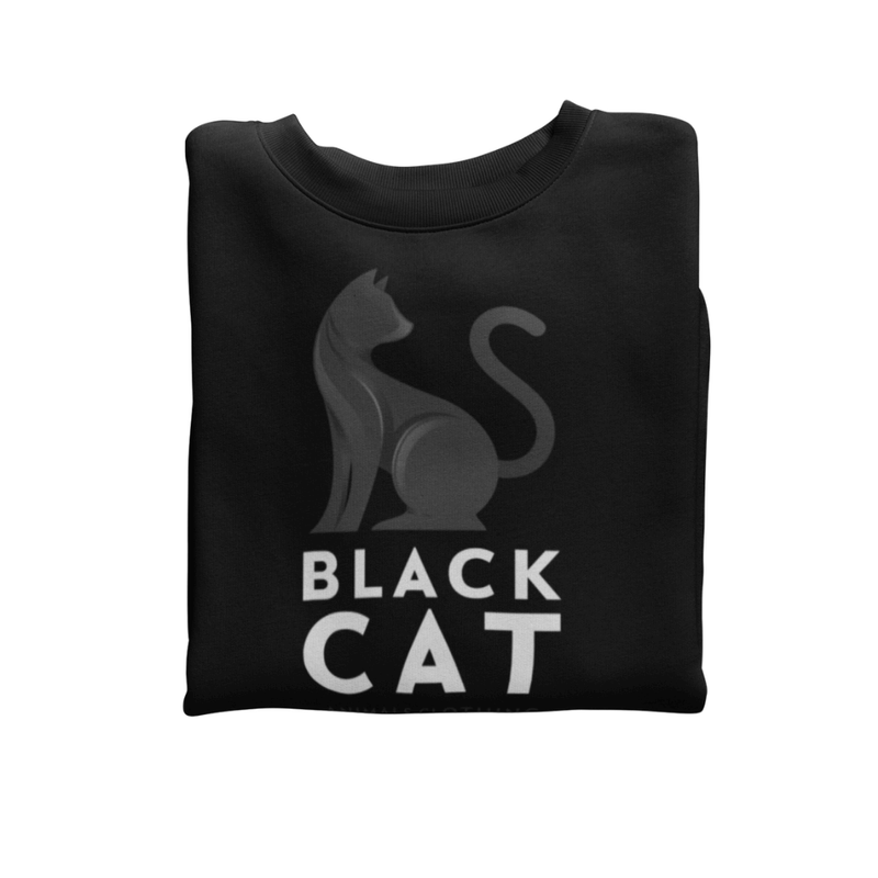 Sweat BLACK CAT <br> ADULTE