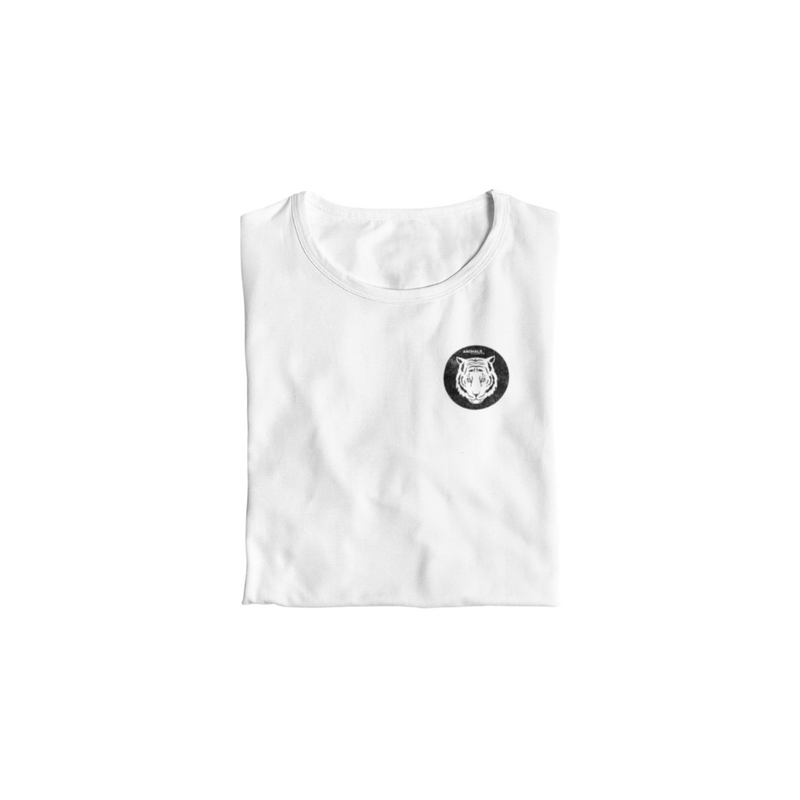 T-Shirt ANIMALS CLOTHING - BLANC <br> ADULTE