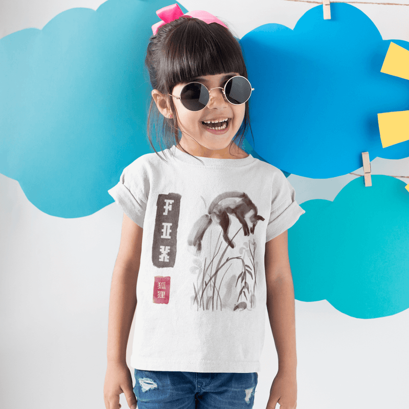 T-Shirt FOX <br> ENFANT