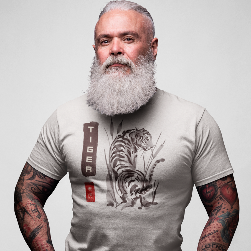 T-Shirt TIGER <br> ADULTE
