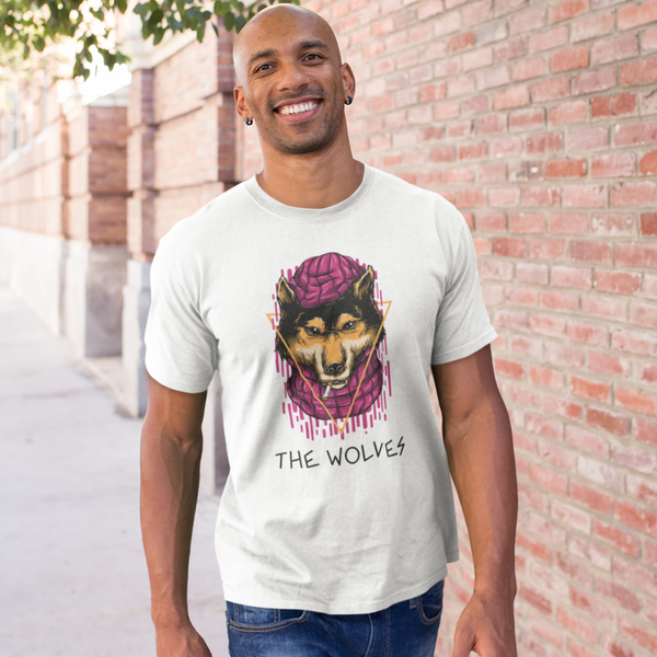 T-Shirt THE WOLVES <br> ADULTE